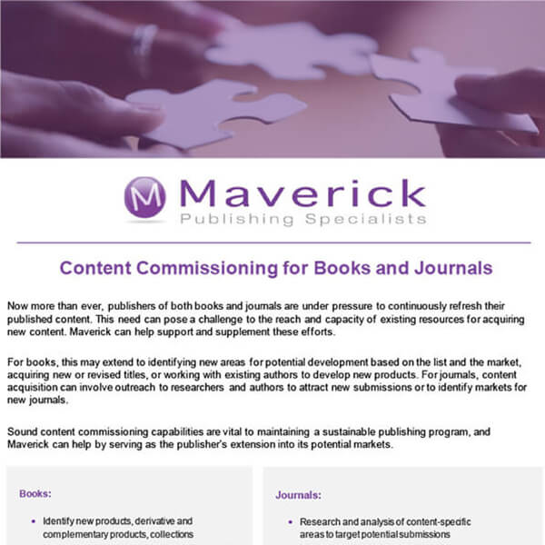 Content Commissioning